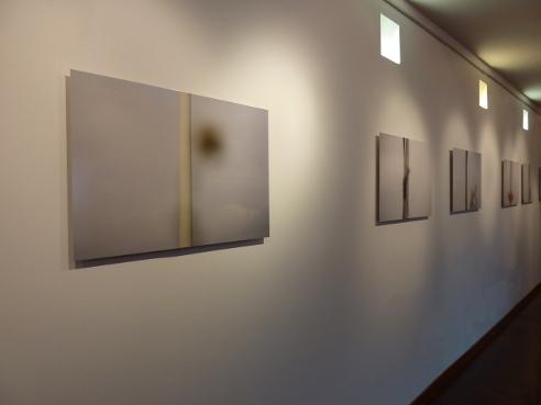 Viviane Zenner exposition, Florange, Galerie de la Médiathèque, Voyage au dessus des mondes