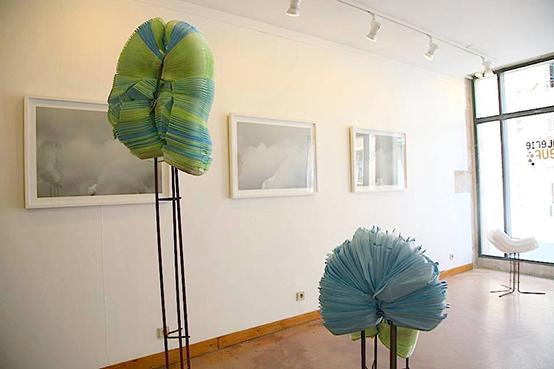 Viviane Zenner exposition, Nancy, 6 week-end d'art contemporain, Anita Molinero - Viviane Zenner